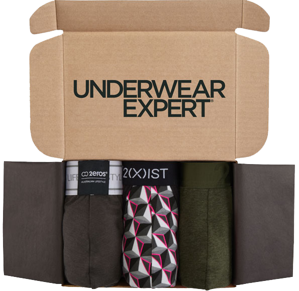 Subscription box with underwear