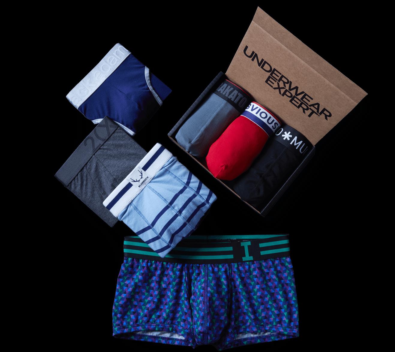 Box with the underwear