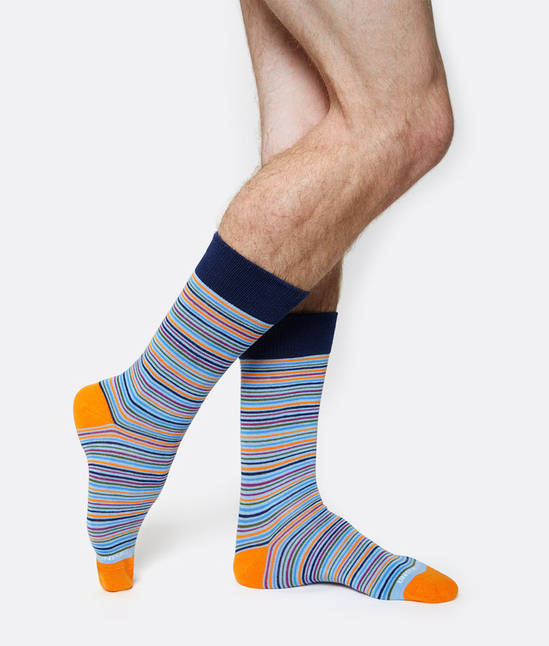 Unsimply Stitched Limitless Stripe Sock