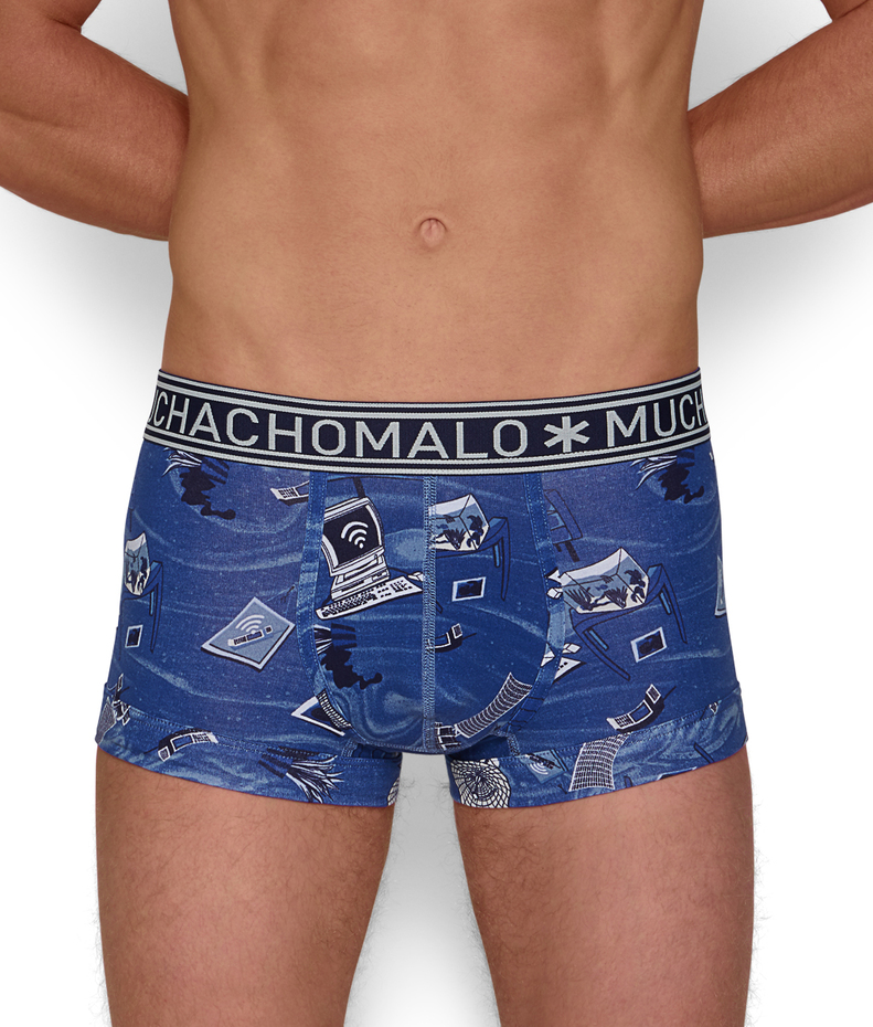 Muchachomalo Always Connected Print Trunk