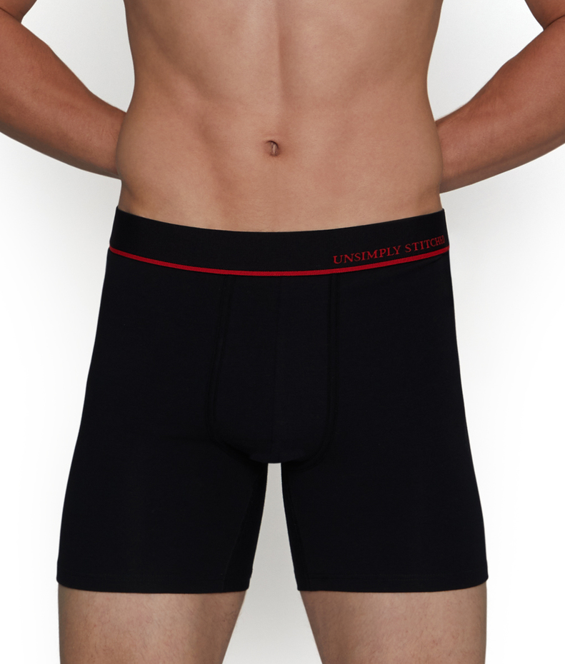 Unsimply Stitched Solid Boxer Brief