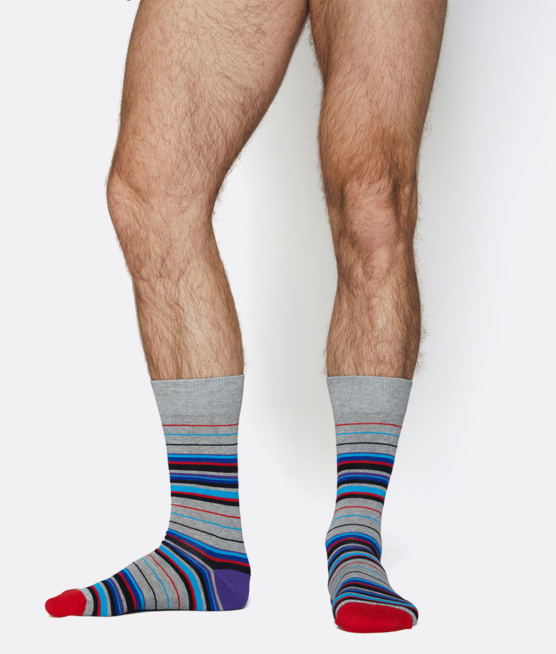 Unsimply Stitched Insane Stripe Sock