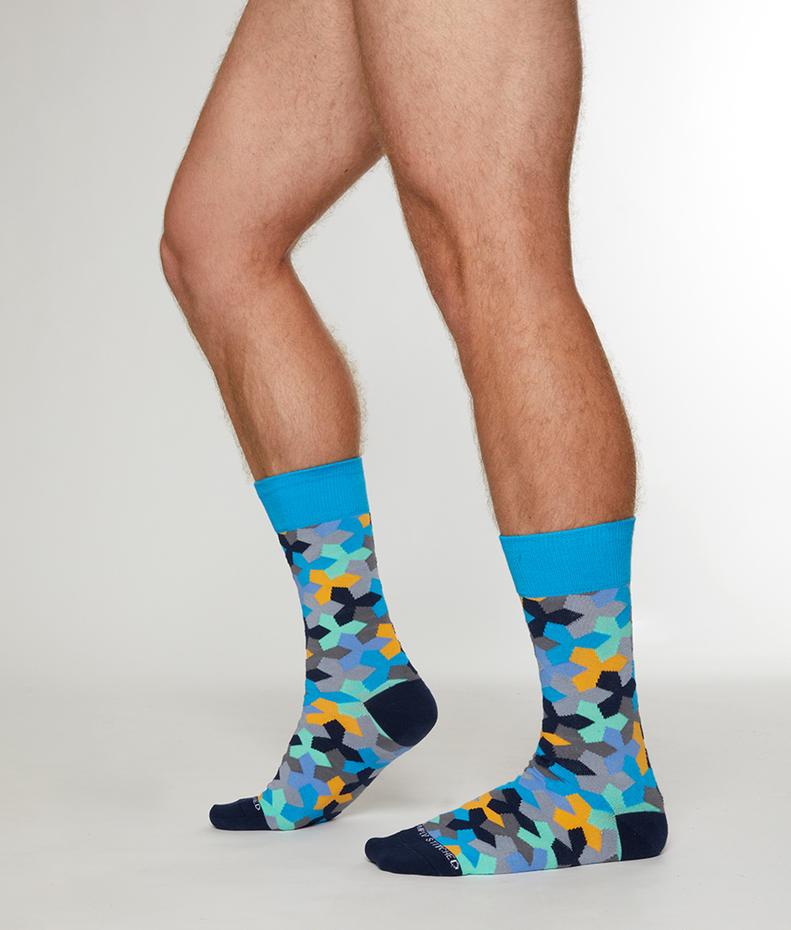 Unsimply Stitched Ninja Star Sock