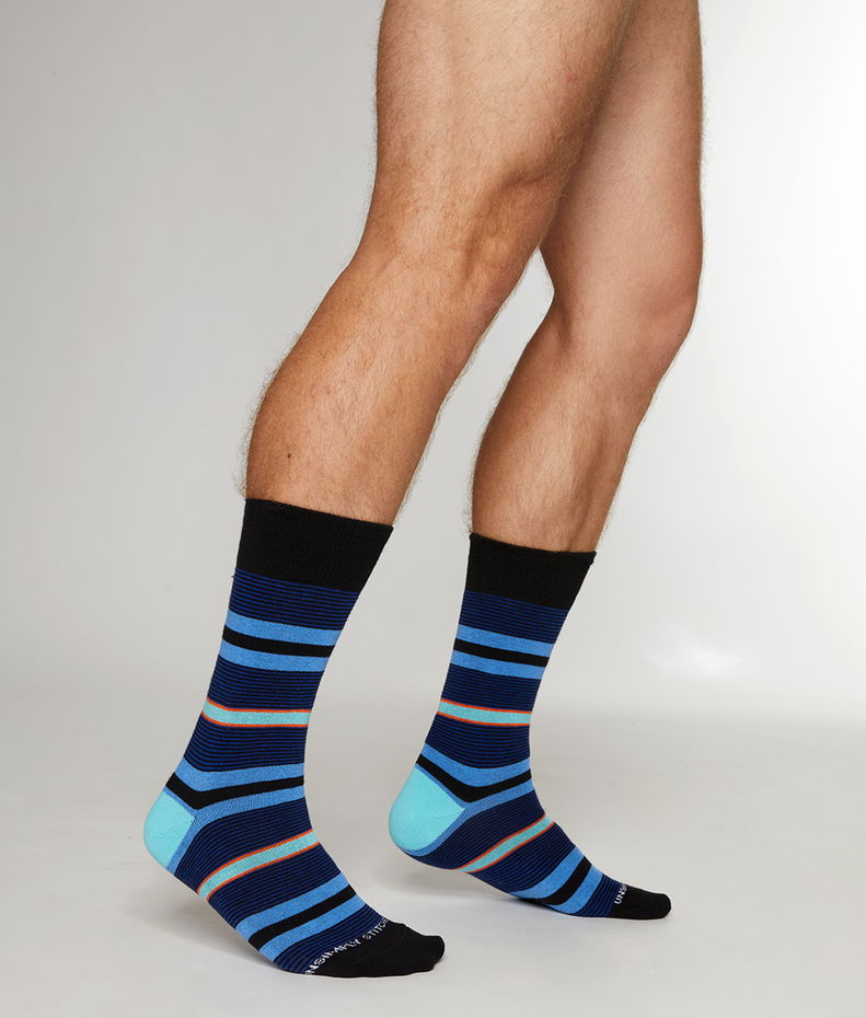 Unsimply Stitched Fort Stripe Sock