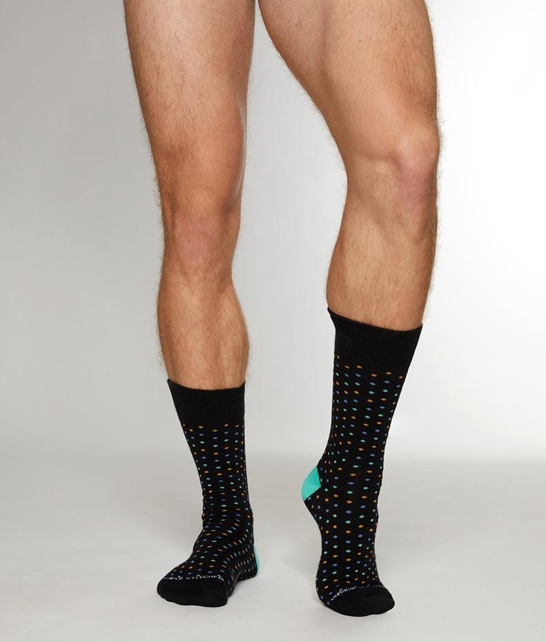 Unsimply Stitched Mini Polka Dots Sock