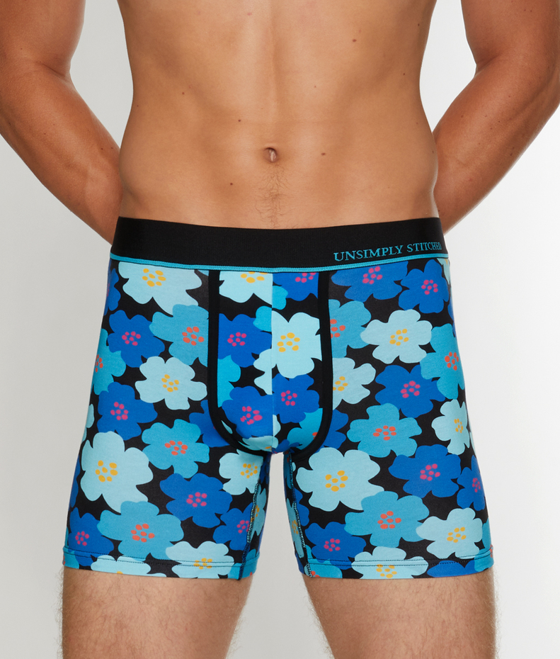 Unsimply Stitched Floral Futures Boxer Brief
