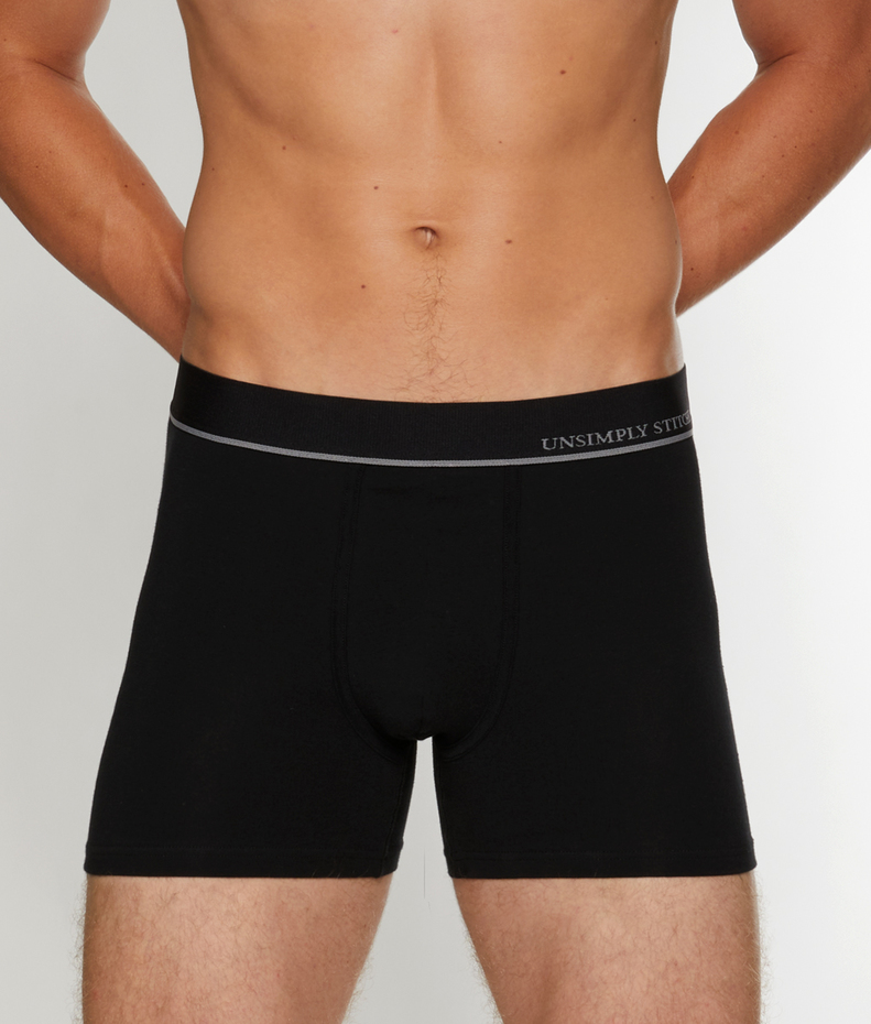 Unsimply Stitched Solid Trunk