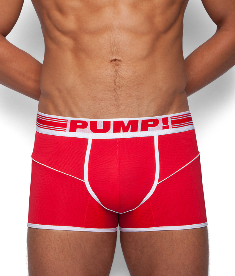 PUMP! Red Free-Fit Boxer