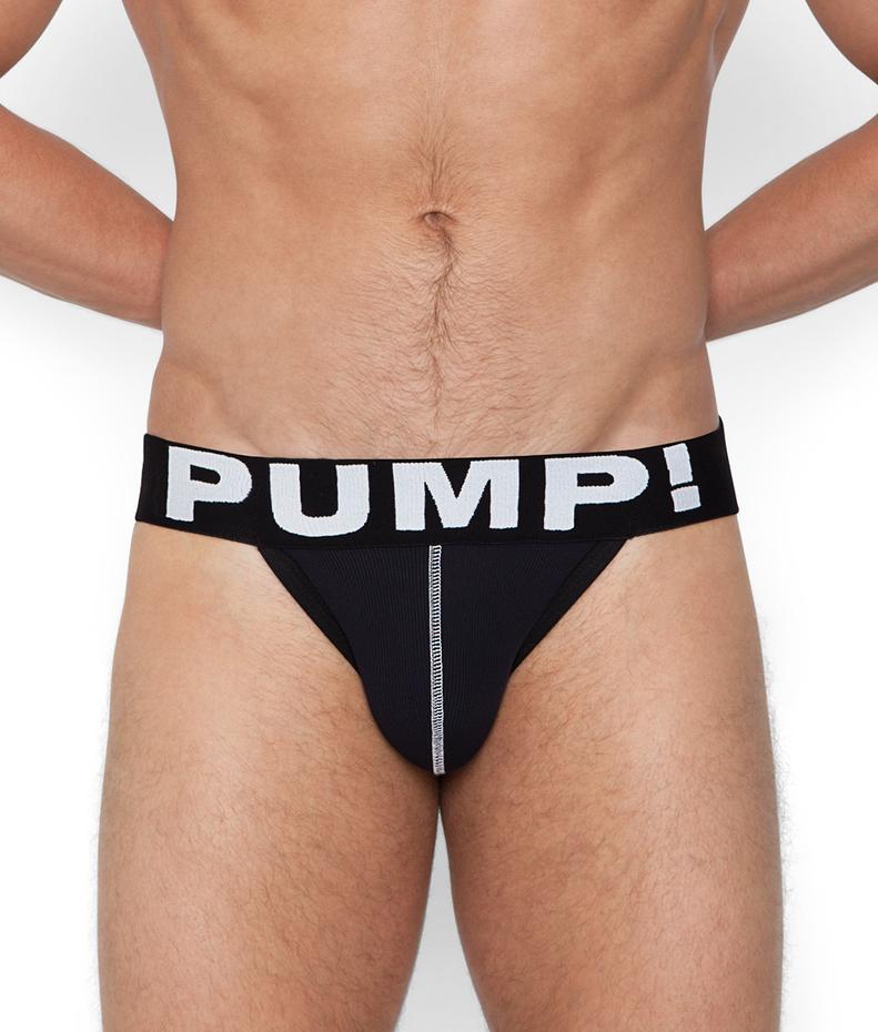 PUMP! Black Jockstrap