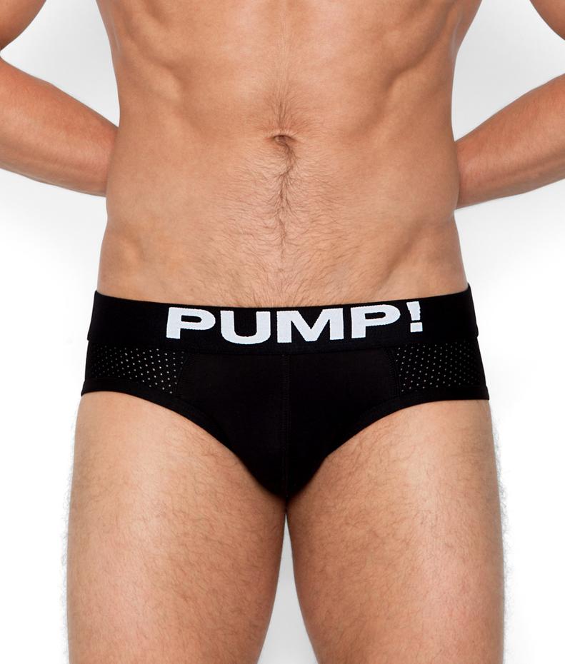 PUMP! Classic Black Brief